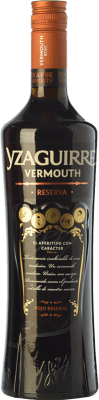 12,95 € Free Shipping | Vermouth Sort del Castell Yzaguirre Rojo Reserva Catalonia Spain Missile Bottle 1 L