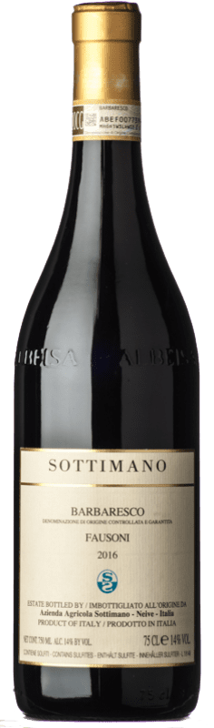 81,95 € Free Shipping | Red wine Sottimano Fausoni D.O.C.G. Barbaresco Piemonte Italy Nebbiolo Bottle 75 cl