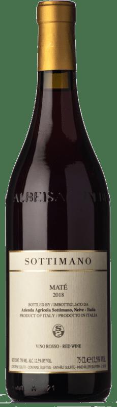 12,95 € Free Shipping | Red wine Sottimano Maté D.O.C. Langhe Piemonte Italy Brachetto Bottle 75 cl