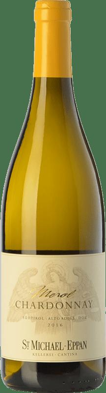 12,95 € Envío gratis | Vino blanco St. Michael-Eppan Merol D.O.C. Alto Adige Trentino-Alto Adige Italia Chardonnay Botella 75 cl