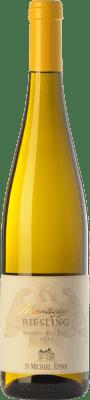 16,95 € Envío gratis | Vino blanco St. Michael-Eppan Montiggl D.O.C. Alto Adige Trentino-Alto Adige Italia Riesling Botella 75 cl