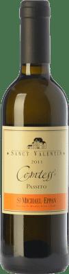 29,95 € Envío gratis | Vino dulce St. Michael-Eppan Sanct Valentin Comtess D.O.C. Alto Adige Trentino-Alto Adige Italia Sauvignon Blanca, Gewürztraminer, Riesling Media Botella 37 cl