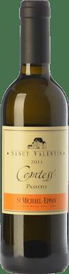 35,95 € Free Shipping | Sweet wine St. Michael-Eppan Sanct Valentin Comtess D.O.C. Alto Adige Trentino-Alto Adige Italy Sauvignon White, Gewürztraminer, Riesling Half Bottle 37 cl