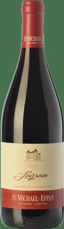 13,95 € Envío gratis | Vino tinto St. Michael-Eppan D.O.C. Alto Adige Trentino-Alto Adige Italia Lagrein Botella 75 cl