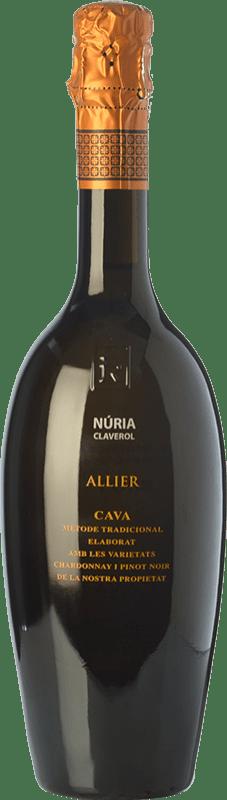 33,95 € Free Shipping | White sparkling Sumarroca Núria Claverol Allier Gran Reserva D.O. Cava Catalonia Spain Pinot Black, Chardonnay Bottle 75 cl