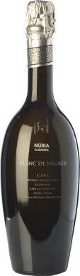 32,95 € Free Shipping | White sparkling Sumarroca Núria Claverol Gran Blanc de Negres Brut D.O. Cava Catalonia Spain Pinot Black Bottle 75 cl