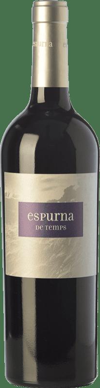 8,95 € Free Shipping | Red wine Sumarroca Espurna de Temps Joven D.O. Empordà Catalonia Spain Syrah, Grenache, Cabernet Sauvignon, Carignan Bottle 75 cl