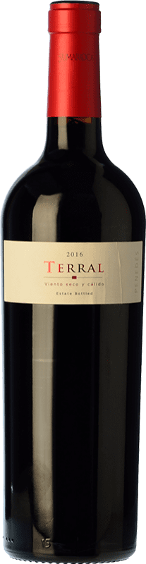 12,95 € Free Shipping | Red wine Sumarroca Terral Crianza D.O. Penedès Catalonia Spain Merlot, Syrah, Cabernet Sauvignon, Cabernet Franc Bottle 75 cl