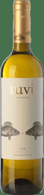 6,95 € Kostenloser Versand | Weißwein Sumarroca Tuví Or Not To Be Crianza D.O. Penedès Katalonien Spanien Viognier, Xarel·lo, Gewürztraminer, Riesling Flasche 75 cl