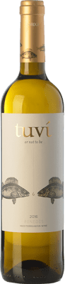 6,95 € Free Shipping | White wine Sumarroca Tuví Or Not To Be Crianza D.O. Penedès Catalonia Spain Viognier, Xarel·lo, Gewürztraminer, Riesling Bottle 75 cl