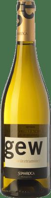 9,95 € Kostenloser Versand | Weißwein Sumarroca D.O. Penedès Katalonien Spanien Gewürztraminer Flasche 75 cl