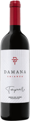 21,95 € Envoi gratuit | Vin rouge Tábula Damana Crianza 2011 D.O. Ribera del Duero Castille et Leon Espagne Tempranillo, Merlot, Cabernet Sauvignon Bouteille 75 cl