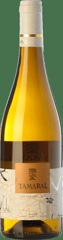 7,95 € Free Shipping | White wine Tamaral D.O. Rueda Castilla y León Spain Verdejo Bottle 75 cl