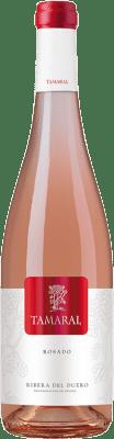 6,95 € Free Shipping | Rosé wine Tamaral D.O. Ribera del Duero Castilla y León Spain Tempranillo Bottle 75 cl