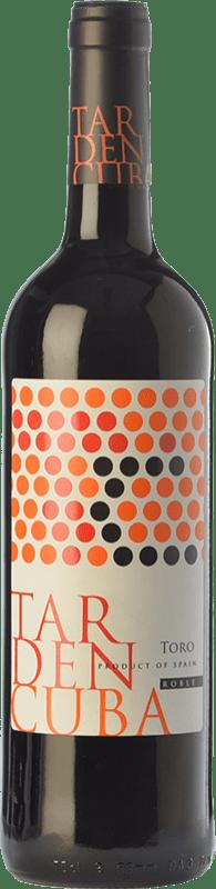 6,95 € Envío gratis | Vino tinto Tardencuba Roble D.O. Toro Castilla y León España Tinta de Toro Botella 75 cl