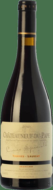 79,95 € Envío gratis | Vino tinto Tardieu-Laurent Cuvée Spéciale Reserva A.O.C. Châteauneuf-du-Pape Rhône Francia Garnacha Botella 75 cl