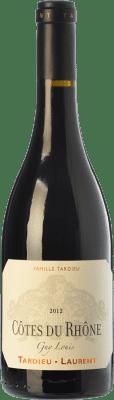 15,95 € Free Shipping | Red wine Tardieu-Laurent Guy Louis Crianza A.O.C. Côtes du Rhône Rhône France Syrah, Grenache Bottle 75 cl