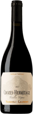 27,95 € Free Shipping | Red wine Tardieu-Laurent Vieilles Vignes Crianza A.O.C. Crozes-Hermitage Rhône France Syrah Bottle 75 cl