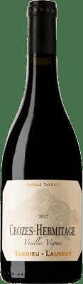 22,95 € Envío gratis | Vino tinto Tardieu-Laurent Vieilles Vignes Crianza A.O.C. Crozes-Hermitage Rhône Francia Syrah Botella 75 cl