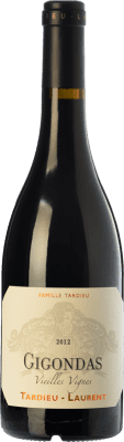 49,95 € Kostenloser Versand   Rotwein Tardieu-Laurent Vieilles Vignes Reserva A.O.C. Gigondas Rhône Frankreich Grenache, Mourvèdre Flasche 75 cl