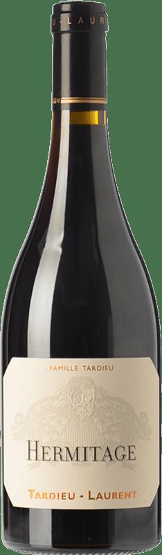 97,95 € Envío gratis | Vino tinto Tardieu-Laurent Crianza A.O.C. Hermitage Rhône Francia Syrah Botella 75 cl