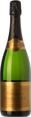 43,95 € Free Shipping | White sparkling Tarlant Tradition Brut Reserva A.O.C. Champagne Champagne France Pinot Black, Chardonnay, Pinot Meunier Bottle 75 cl. | Thousands of wine lovers trust us to get the best price guarantee, free shipping always and hassle-free shopping and returns.