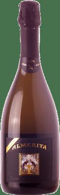 32,95 € Envío gratis | Espumoso blanco Tasca d'Almerita Extra Brut D.O.C. Contea di Sclafani Sicilia Italia Chardonnay Botella 75 cl
