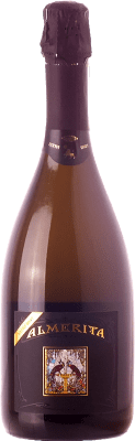 38,95 € Free Shipping | White sparkling Tasca d'Almerita Extra Brut D.O.C. Contea di Sclafani Sicily Italy Chardonnay Bottle 75 cl