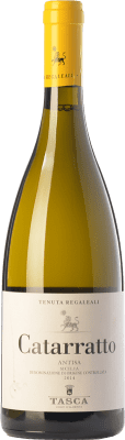 14,95 € Free Shipping | White wine Tasca d'Almerita Antisa I.G.T. Terre Siciliane Sicily Italy Catarratto Bottle 75 cl