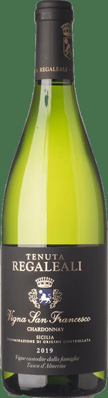 33,95 € Free Shipping | White wine Tasca d'Almerita I.G.T. Terre Siciliane Sicily Italy Chardonnay Bottle 75 cl