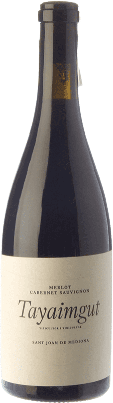 15,95 € Free Shipping   Red wine Tayaimgut Hort de les Canyes Crianza D.O. Penedès Catalonia Spain Merlot, Cabernet Sauvignon Bottle 75 cl