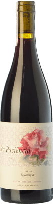23,95 € Free Shipping | Red wine Tayaimgut Santa Paciència Crianza D.O. Penedès Catalonia Spain Merlot, Cabernet Sauvignon Bottle 75 cl