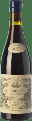 43,95 € Free Shipping | Red wine Telmo Rodríguez As Caborcas Crianza D.O. Valdeorras Galicia Spain Grenache, Mencía, Sousón, Godello, Merenzao Bottle 75 cl