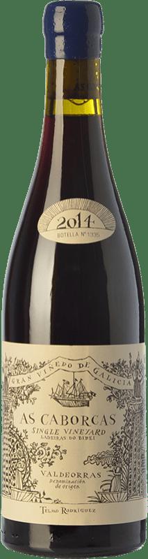 49,95 € Free Shipping | Red wine Telmo Rodríguez As Caborcas Crianza D.O. Valdeorras Galicia Spain Grenache, Mencía, Sousón, Godello, Merenzao Bottle 75 cl