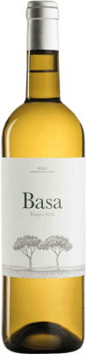 8,95 € Free Shipping | White wine Telmo Rodríguez Basa D.O. Rueda Castilla y León Spain Viura, Verdejo, Sauvignon White Bottle 75 cl