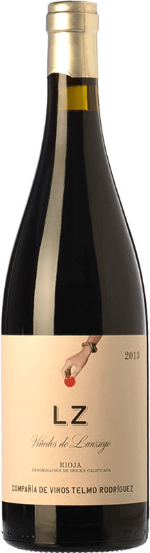 9,95 € Free Shipping | Red wine Telmo Rodríguez LZ Joven D.O.Ca. Rioja The Rioja Spain Tempranillo Bottle 75 cl