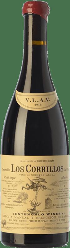 33,95 € Envoi gratuit | Vin rouge Tentenublo Los Corrillos Crianza D.O.Ca. Rioja La Rioja Espagne Tempranillo, Grenache, Graciano Bouteille 75 cl