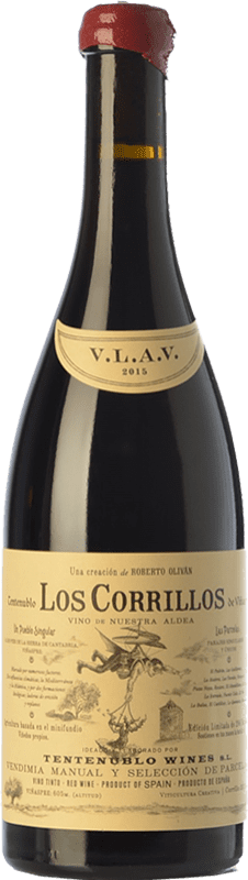 33,95 € Envío gratis | Vino tinto Tentenublo Los Corrillos Crianza D.O.Ca. Rioja La Rioja España Tempranillo, Garnacha, Graciano Botella 75 cl