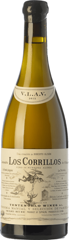 42,95 € Free Shipping | White wine Tentenublo Los Corrillos Crianza D.O.Ca. Rioja The Rioja Spain Viura, Malvasía, Jaén Bottle 75 cl