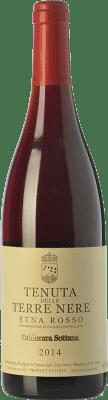 79,95 € Free Shipping | Red wine Tenuta Nere Calderara Sottana Rosso D.O.C. Etna Sicily Italy Nerello Mascalese, Nerello Cappuccio Bottle 75 cl