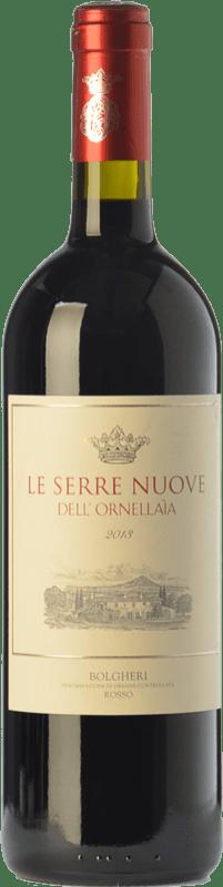 53,95 € Free Shipping | Red wine Ornellaia Le Serre Nuove D.O.C. Bolgheri Tuscany Italy Merlot, Cabernet Sauvignon, Cabernet Franc, Petit Verdot Bottle 75 cl