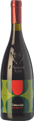 26,95 € Free Shipping | Red wine Tenuta di Castellaro L'Ottava Isola D.O.C. Etna Sicily Italy Nerello Mascalese, Nerello Cappuccio Bottle 75 cl