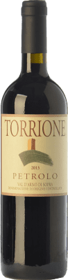 33,95 € Free Shipping | Red wine Petrolo Torrione I.G.T. Toscana Tuscany Italy Sangiovese Bottle 75 cl
