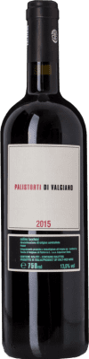 19,95 € Free Shipping | Red wine Tenuta di Valgiano Palistorti Rosso D.O.C. Colline Lucchesi Tuscany Italy Merlot, Syrah, Sangiovese Bottle 75 cl