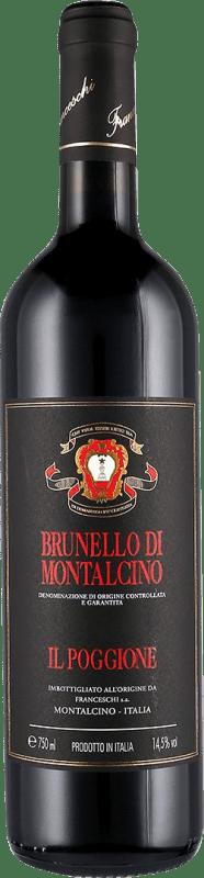 48,95 € Envoi gratuit   Vin rouge Il Poggione D.O.C.G. Brunello di Montalcino Toscane Italie Sangiovese Bouteille 75 cl