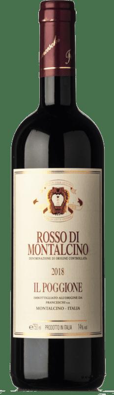 22,95 € Envío gratis   Vino tinto Il Poggione D.O.C. Rosso di Montalcino Toscana Italia Sangiovese Botella 75 cl