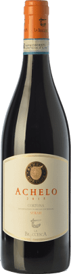 12,95 € Free Shipping | Red wine La Braccesca Achelo D.O.C. Cortona Tuscany Italy Syrah Bottle 75 cl
