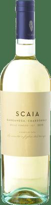 9,95 € Envoi gratuit | Vin blanc Tenuta Sant'Antonio Scaia I.G.T. Veneto Vénétie Italie Chardonnay, Garganega Bouteille 75 cl