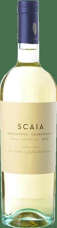9,95 € Envío gratis | Vino blanco Tenuta Sant'Antonio Scaia I.G.T. Veneto Veneto Italia Chardonnay, Garganega Botella 75 cl
