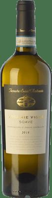 13,95 € Envío gratis | Vino blanco Tenuta Sant'Antonio Vecchie Vigne D.O.C. Soave Veneto Italia Garganega Botella 75 cl